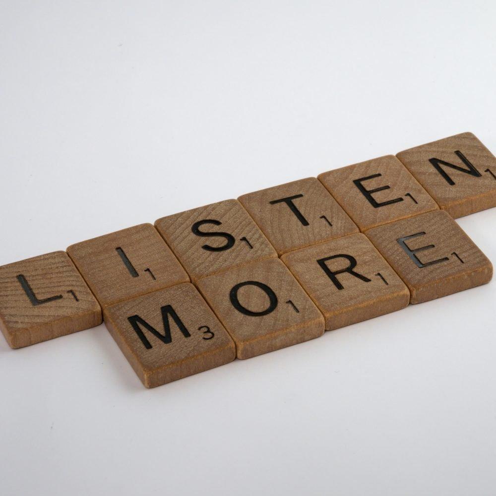 Talk Less, Communicate More