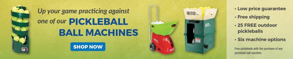 pickleball ball machines